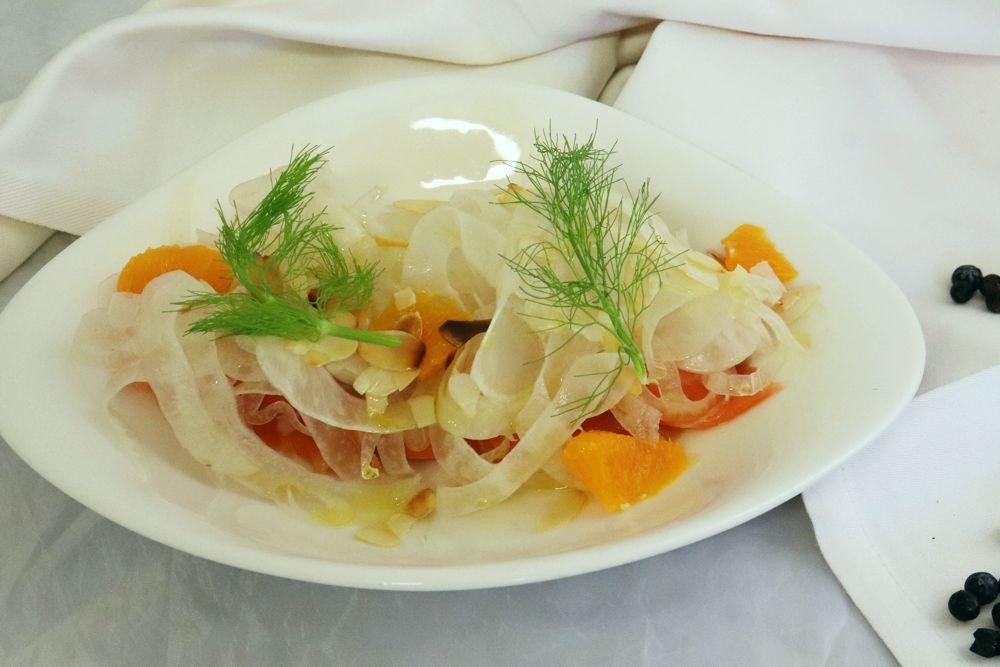 Salmone marinato agli agrumi - Nuovo Nando Brescia